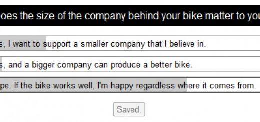 Big Mountain Bike Company vs Small Mountain Bike Company