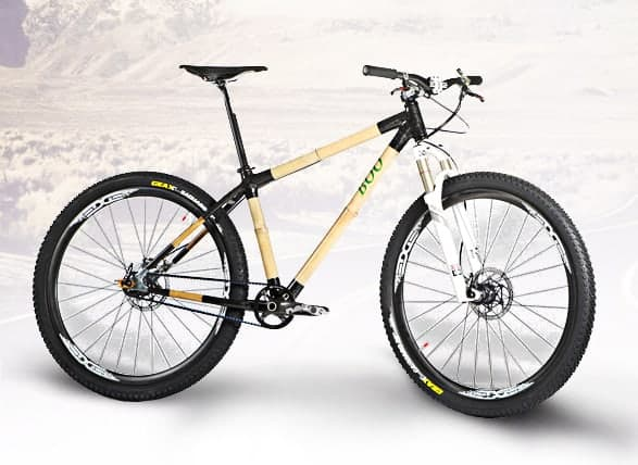 Boo Bicycles 29er bamboo mountain bike