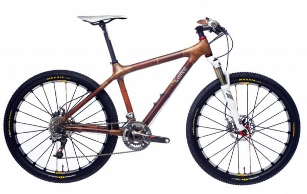 Calfee bamboo mountain bike