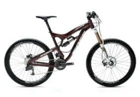 Foes Racing F275 650B full suspension trail bike