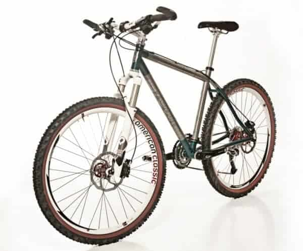 Kelson titanium mountain bike