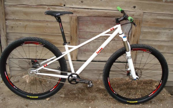 Lucid Cycles single speed mountain bike