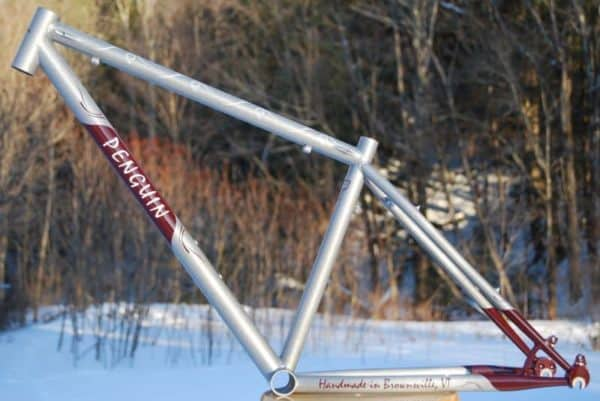 Penguin Cycles mountain bike frame