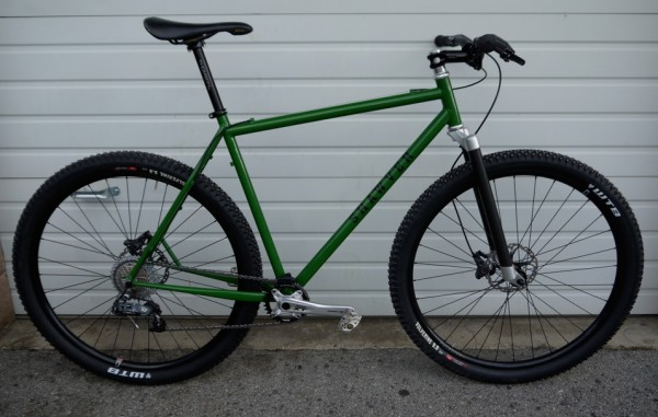 Shawver 29er mountain bike