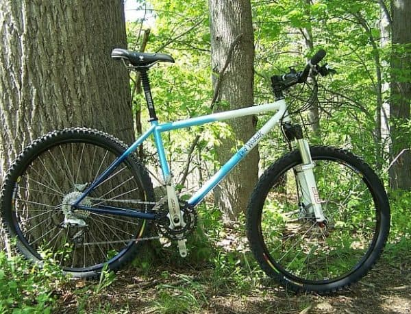 Ted Wojcik Sof Trac mountain bike
