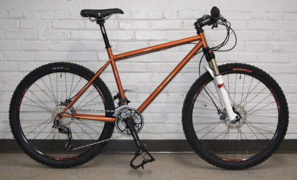 TET Cycles Tomet mountain bike