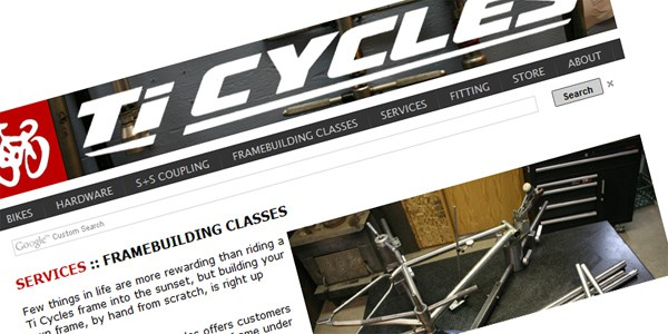 Ti Cycles Frame Building Class