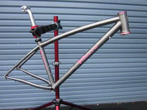 DeSalvo titanium 650b mountain bike