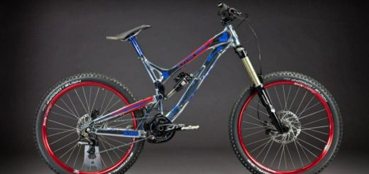 Big Jake Cooper's custom Intense Cycles SS2