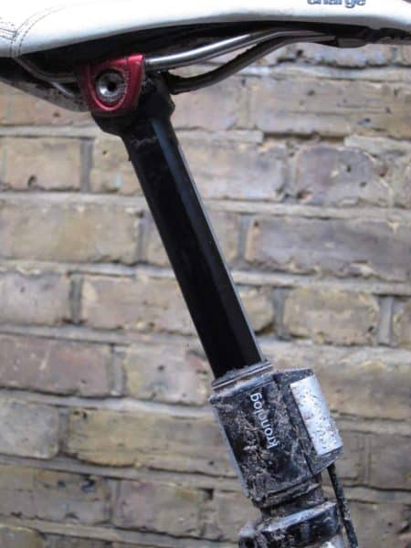 crankbrothers kronolog adjustable height seatpost review