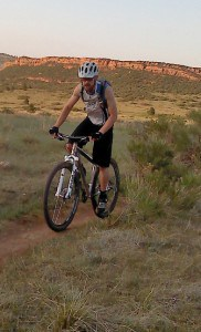 Jonathan on his FORM Cycles Prevail Titanium 29er
