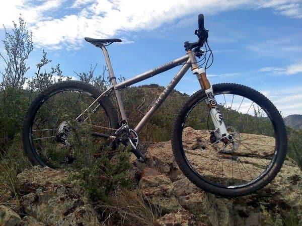 FORM Cycles Prevail Titanium 29er mountain bike