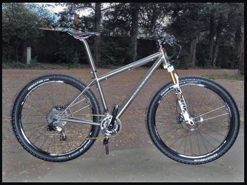 Jonathan Guerdrum S Form Cycles Prevail Titanium 29er