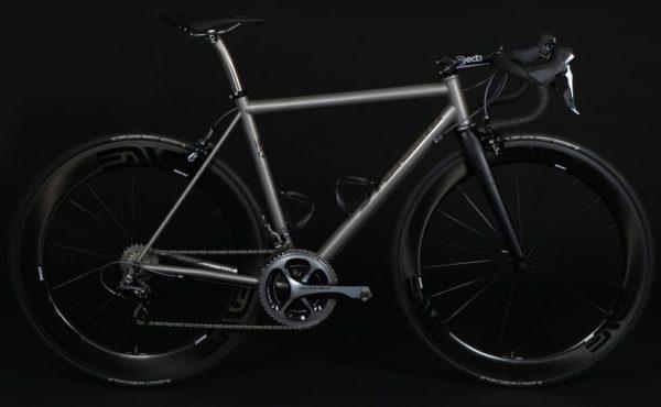 custom Mosaic Cycles titanium road bike