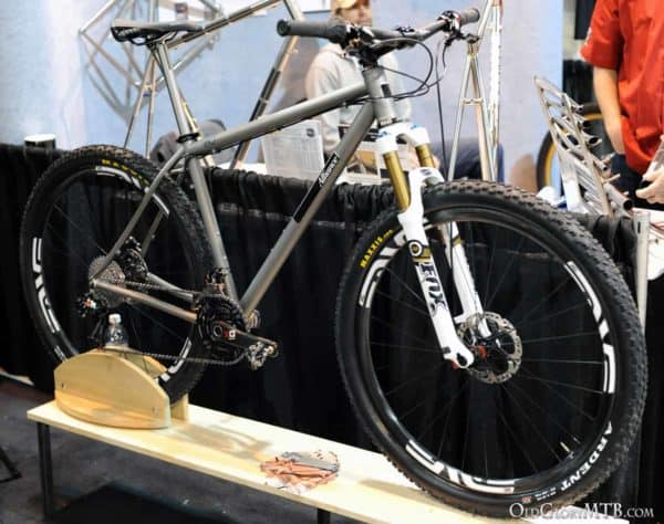 2013 NAHBS - Alliance Bicycles Titanium 29er Hardtail