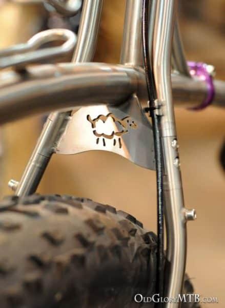 notice the frame coupling for belt drive option