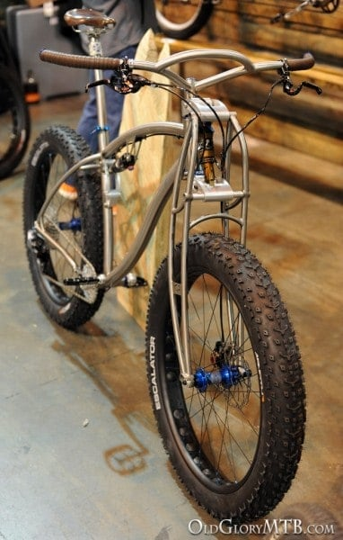 full suspension fat bike from Black Sheep