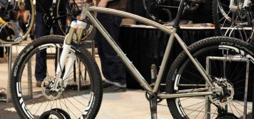 DeSalvo 650B titanium mountain bike