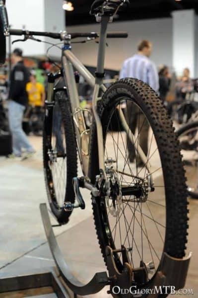 custom titanium hardtail 29er