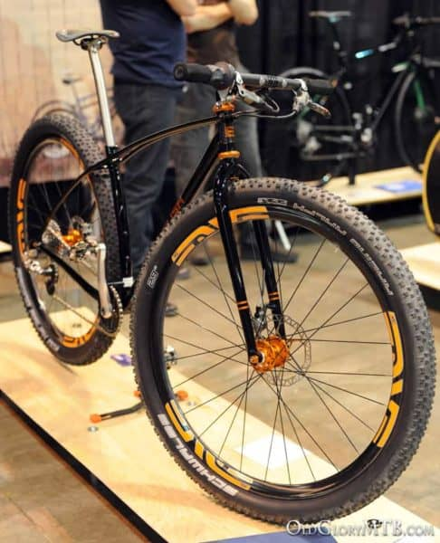 Rob's latest rigid 29er mountain bike