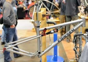 totally new titanium full suspension frame from Kent Eriksen Cycles