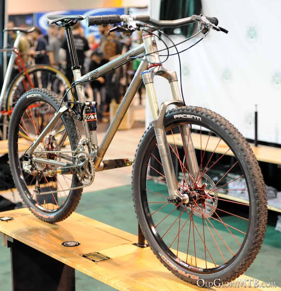 2013 NAHBS - Shamrock Cycles - 650B full suspension mountain bike