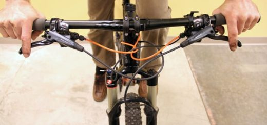 how to set up brake levers