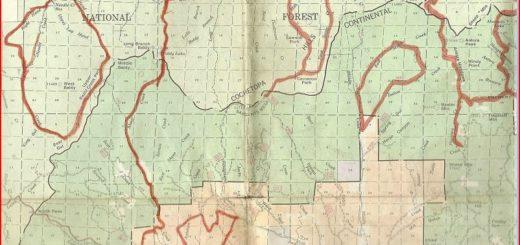 USGS quads map
