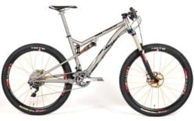 2013 Lynskey Pro650 FS-140 titanium full suspension mountain bike