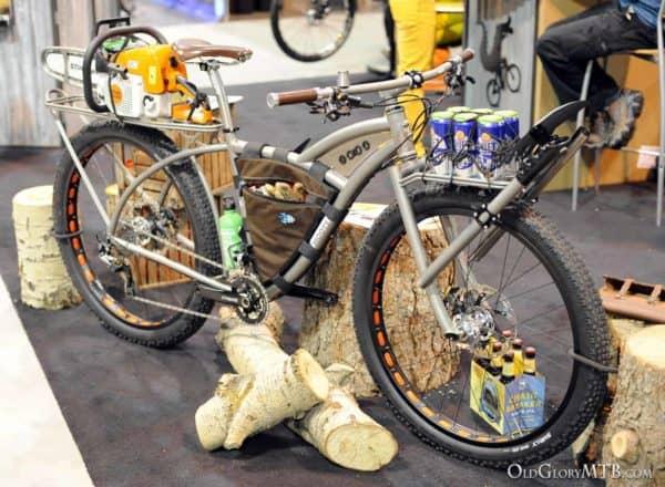 Moots trail maintenance bike