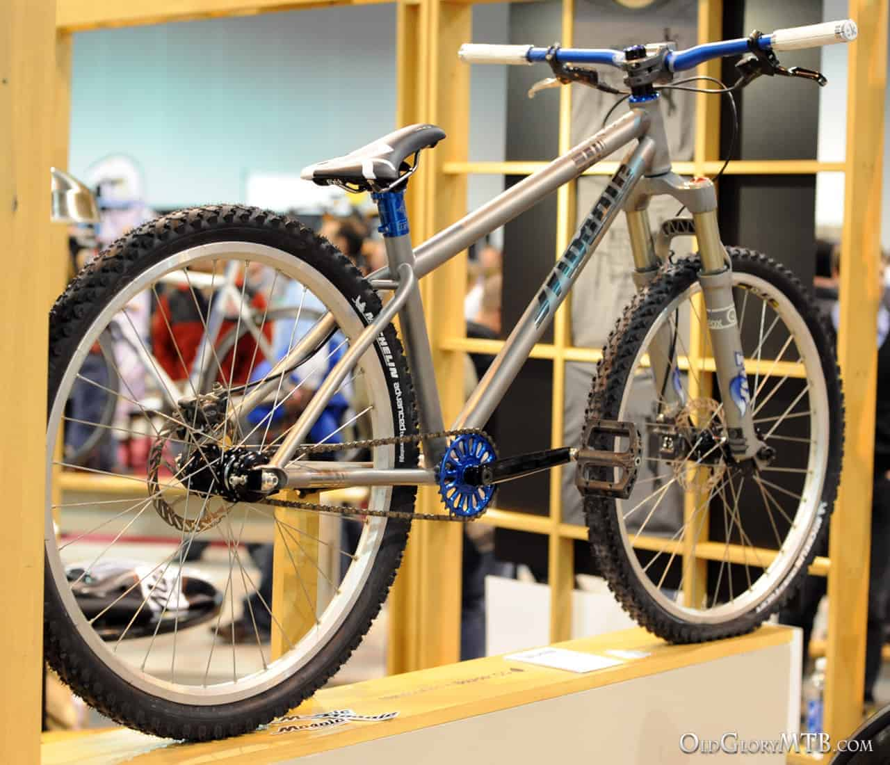 Best Hardtail Mountain Bike >> [2013 NAHBS] Mosaic Cycles - Titanium Hardtail MTB and ...