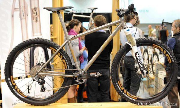 Mosaic Cycles titanium hardtail mountain bike