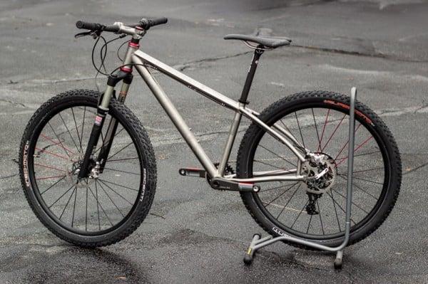 Cysco Cycles titanium 650B hardtail mountain bike