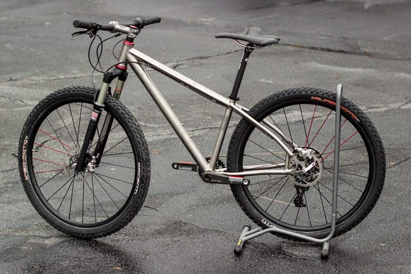 Cysco Cycles Does Titanium 650B