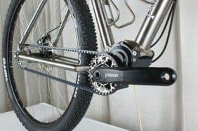 Pinion P1.18 gearbox detail