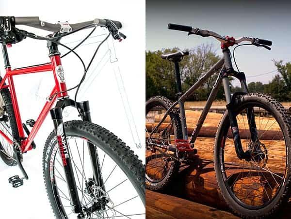 UBI student made mountain bikes