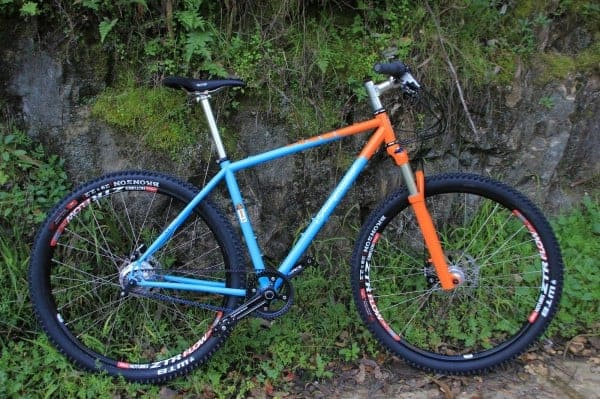 "Independent Fabrication custom 29"" Rohloff hardtail"