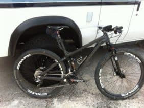 "Turner Bikes Czar carbon fiber 29"" full suspension mountain bike"