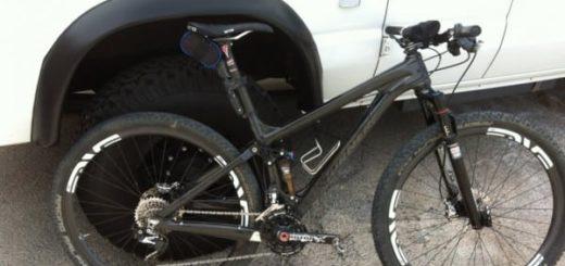 "Turner Bikes Czar carbon fiber 29"" full suspension mountain bike"