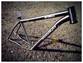 Vassago OptimusTi 29er mountain bike frame