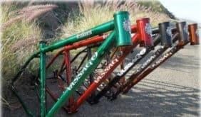 "Vassago VerHauen 29"" steel mountain bike frame"