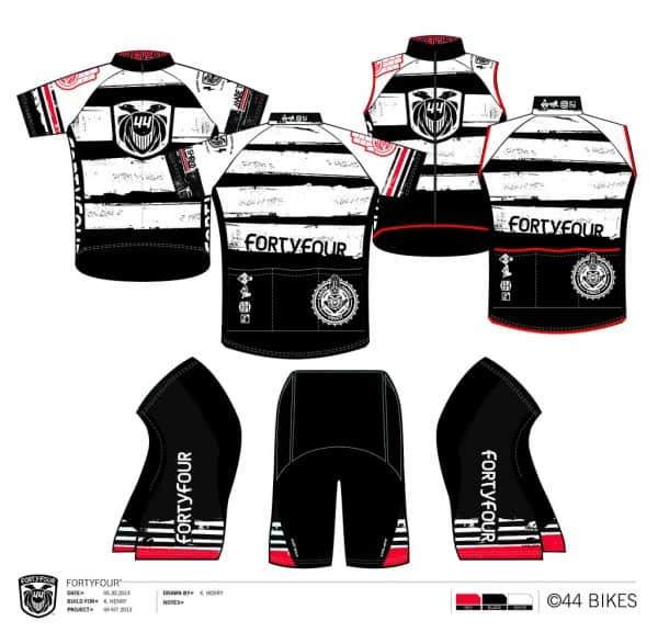 44 Bikes 2013 Jersey