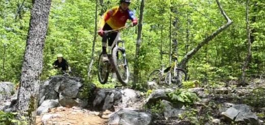 sick singletrack in the south