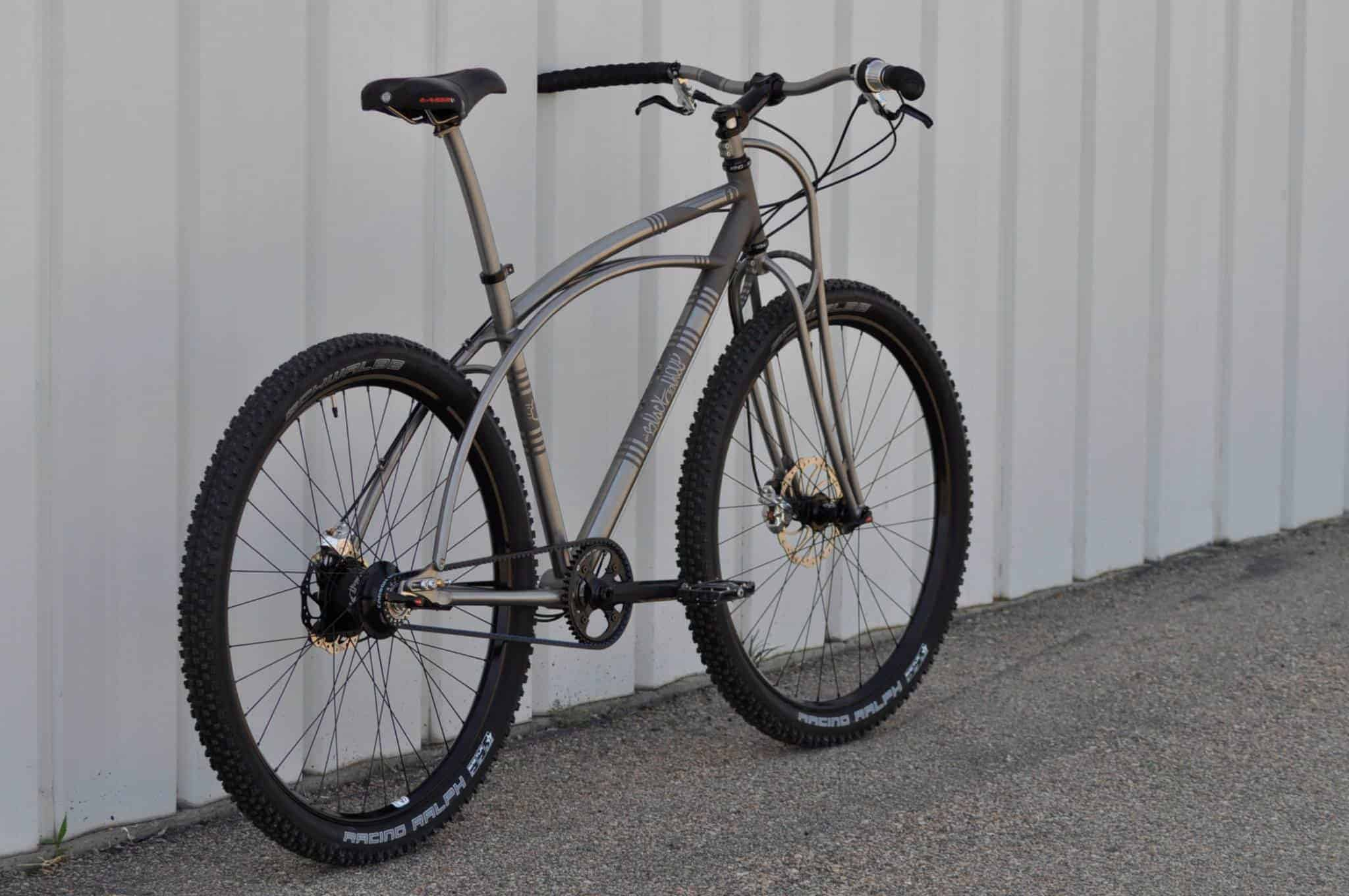 Made In The USA - Black Sheep Customs - Black Cat Hardtail ...