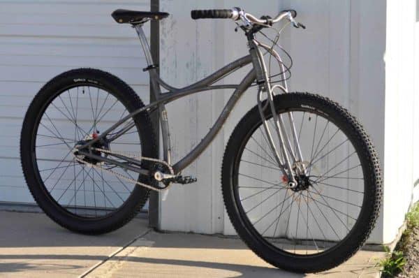 Custom Black Sheep Titanium Luna Vista