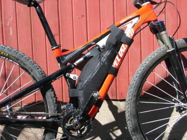 full suspension frame bag - Bolder Bikepacking