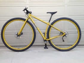 Waltworks custom 36er mountain bike