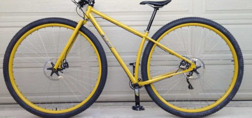 Waltworks custom 36er mountain bike