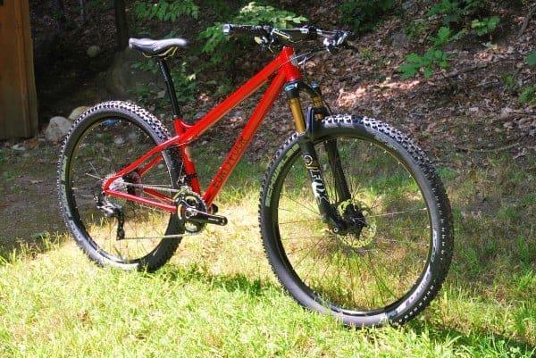 44 Bikes custom 27.5 hardtail