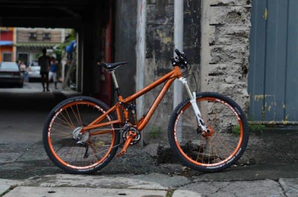 custom colormatched Turner Burner 27.5